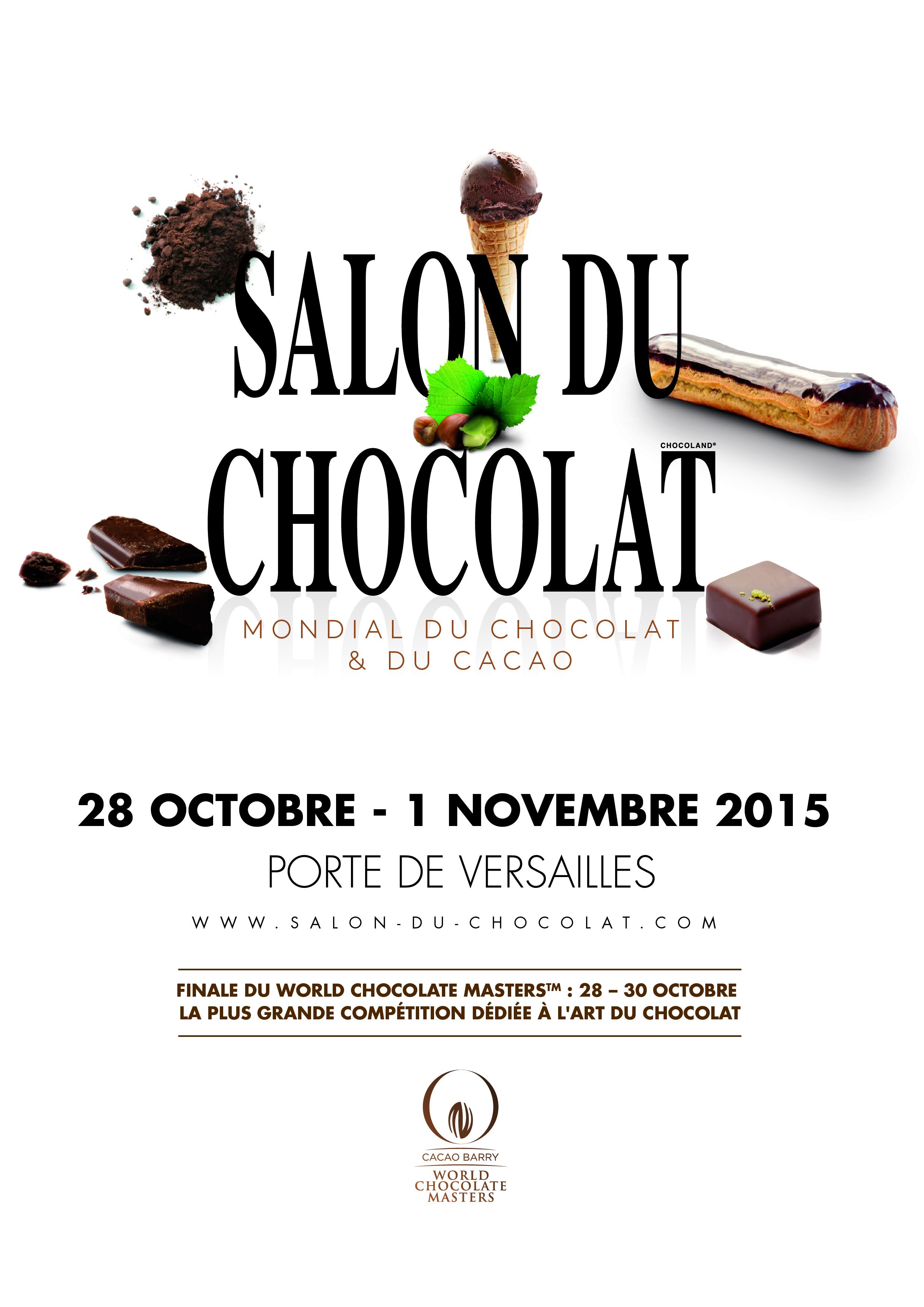 21 me dition du salon du chocolat 2 invitations gagner - Invitation gratuite salon du chocolat ...