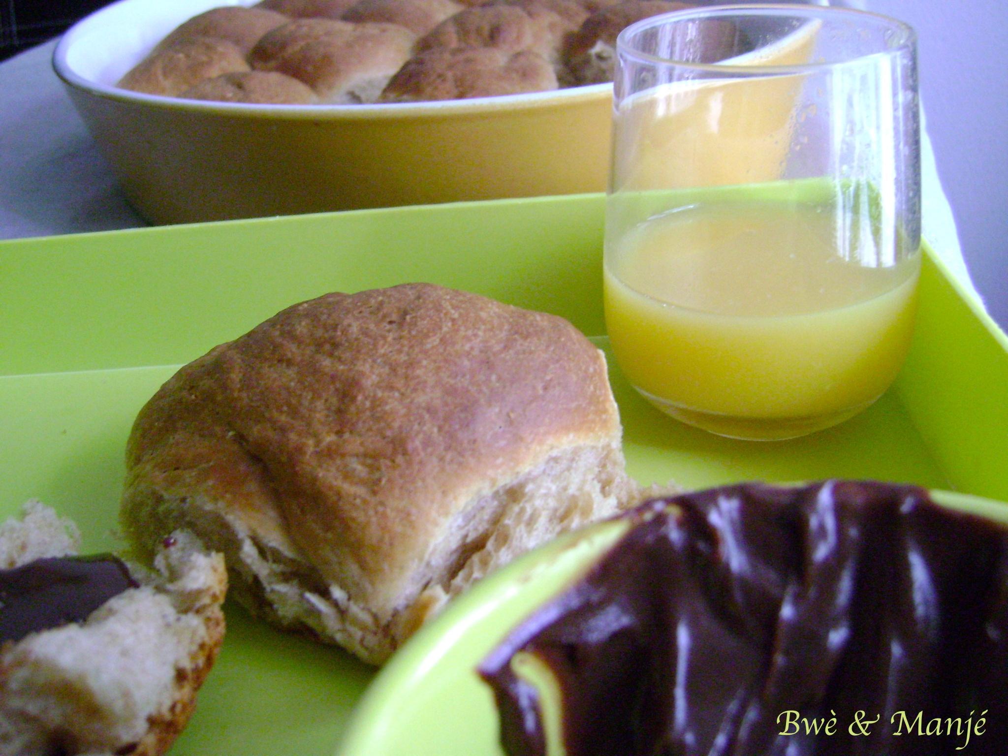 petits pains cannelle