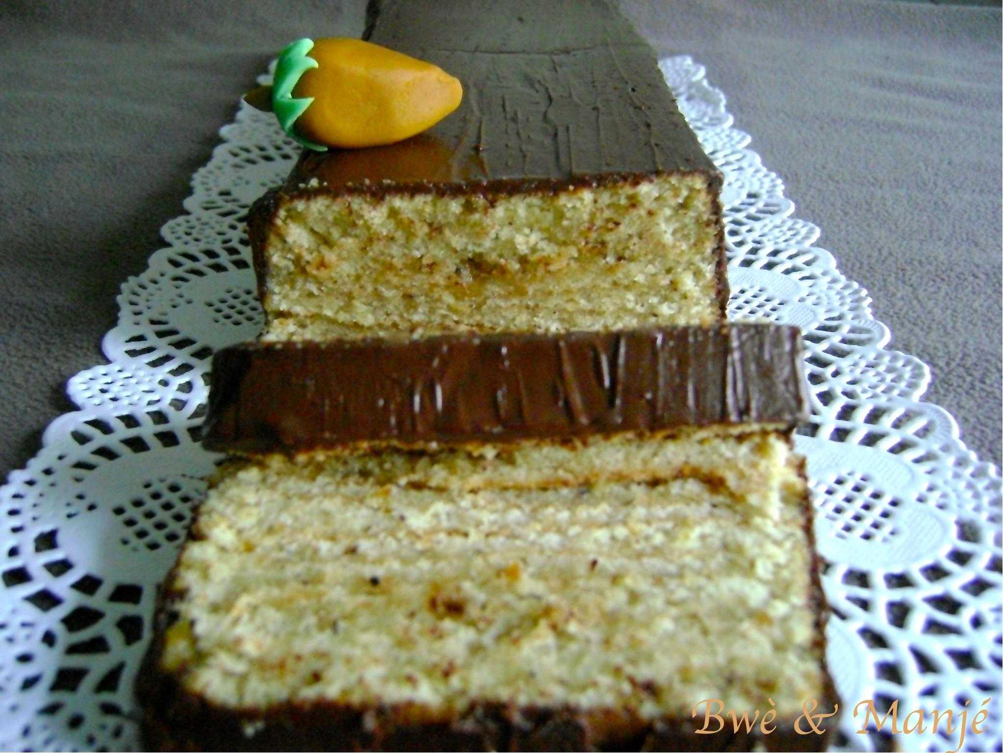 cake feuilleté noisette