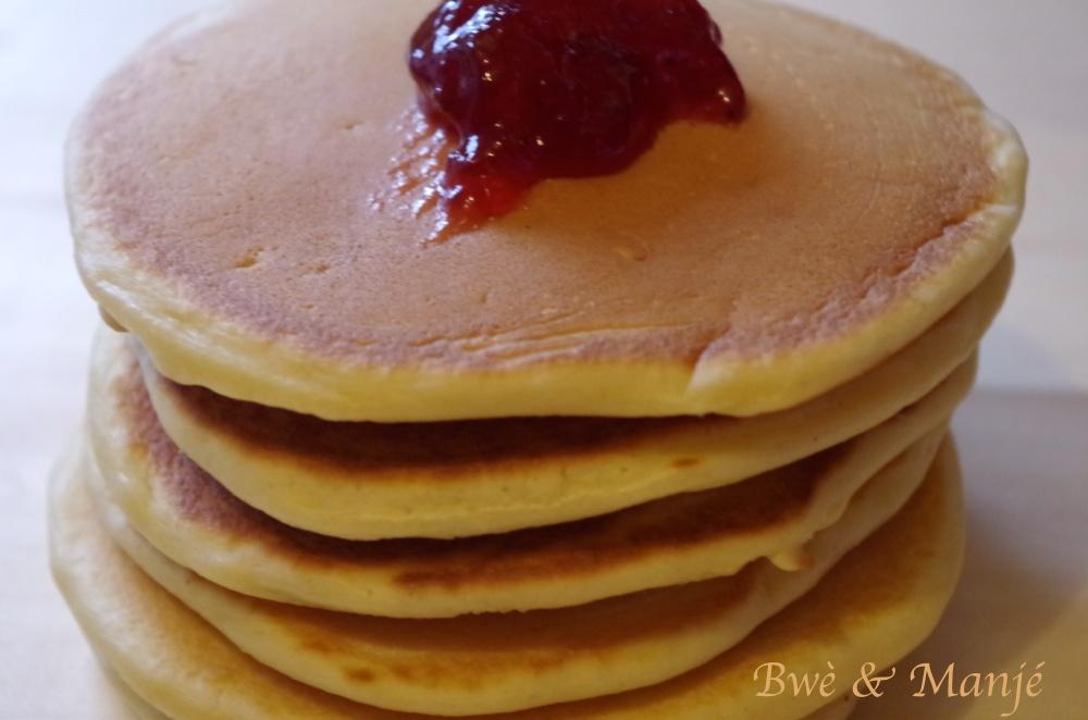 montagne de pancakes