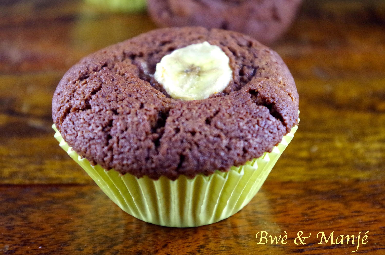 muffin chocolat banane