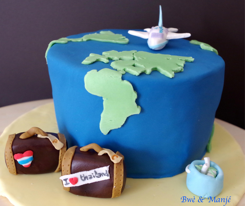 gâteau tour du monde à deux
