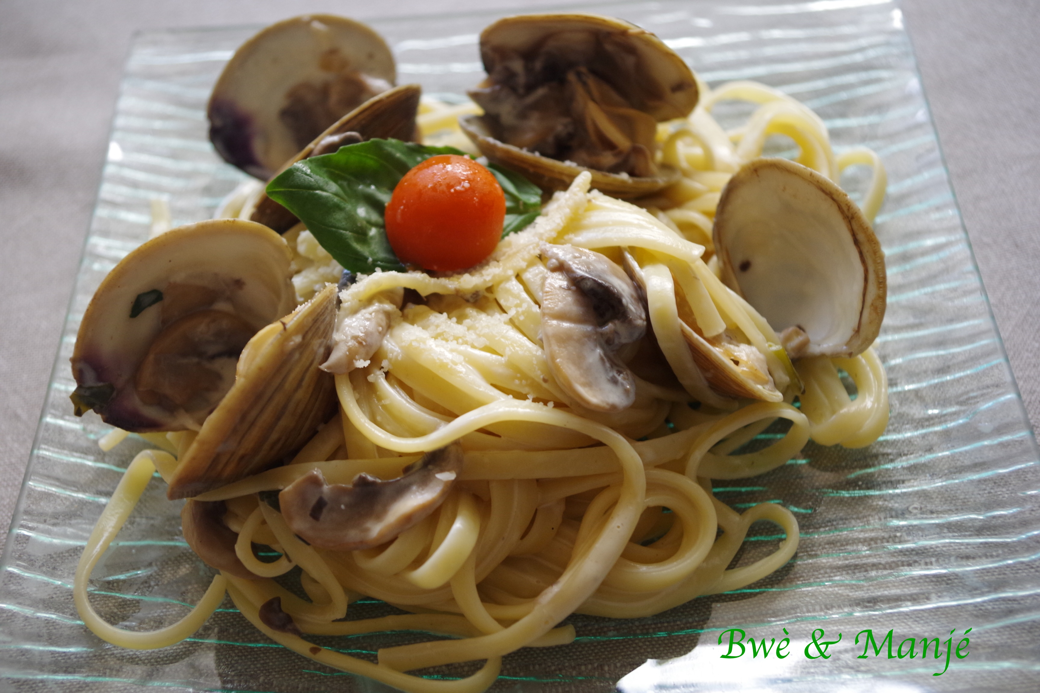 linguine aux clams