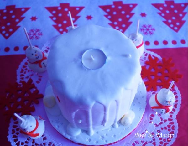gâteau bougie