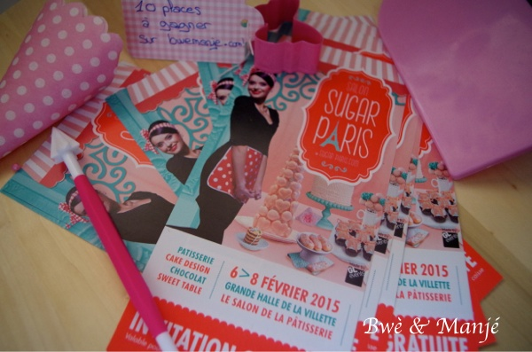 invitations à gagner sugar paris