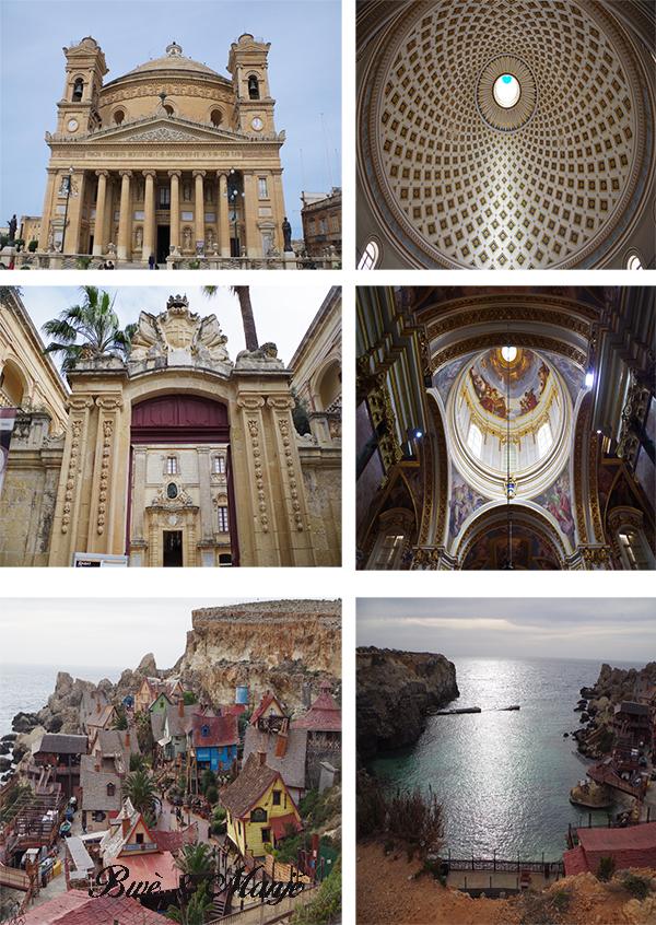 mdina rabat rotonde sainte marie village popeye visite malte