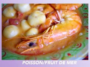 Poisson fruit de mer