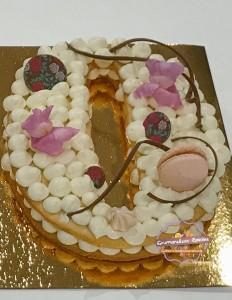 zero number cake gourmandises epicees