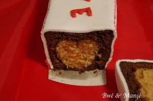 cake coeur st valentin