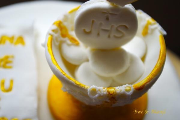 communion cake design