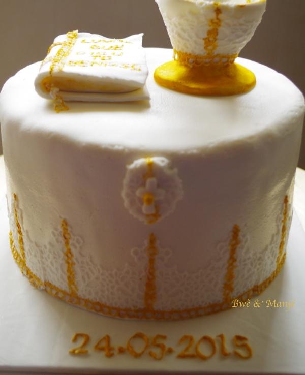 dentelle cake design