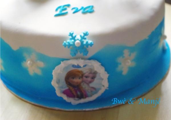 elsa anna reines des neiges gâteau cake design