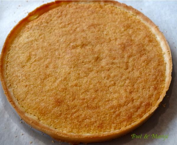 Tarte fraises pistache fiche technique capp tissier gourmandises pic es - Fond de tarte palet breton ...