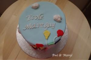 gâteau clown cake design