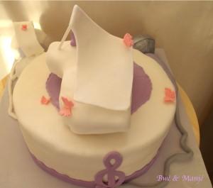 gâteau thème musique