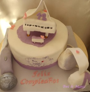gâteau violetta musique