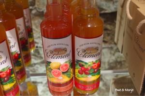 liqueur cerise et liqueur goyave
