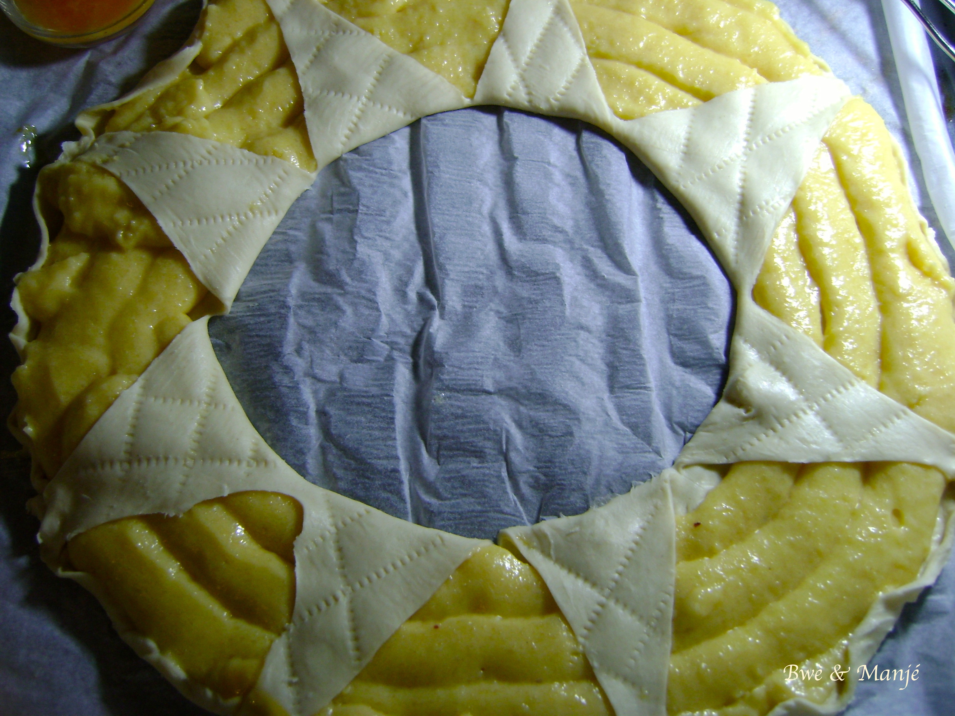 prépa galette couronne frangipanne