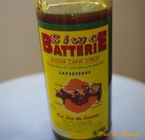 sirop batterie