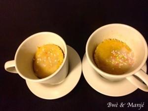 vanilia mug cake