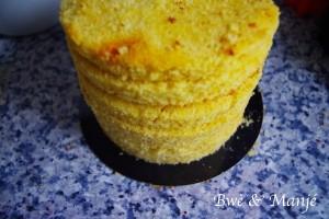 victoria sponge cake vanille