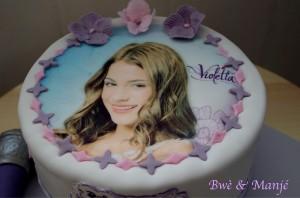 violetta cake design