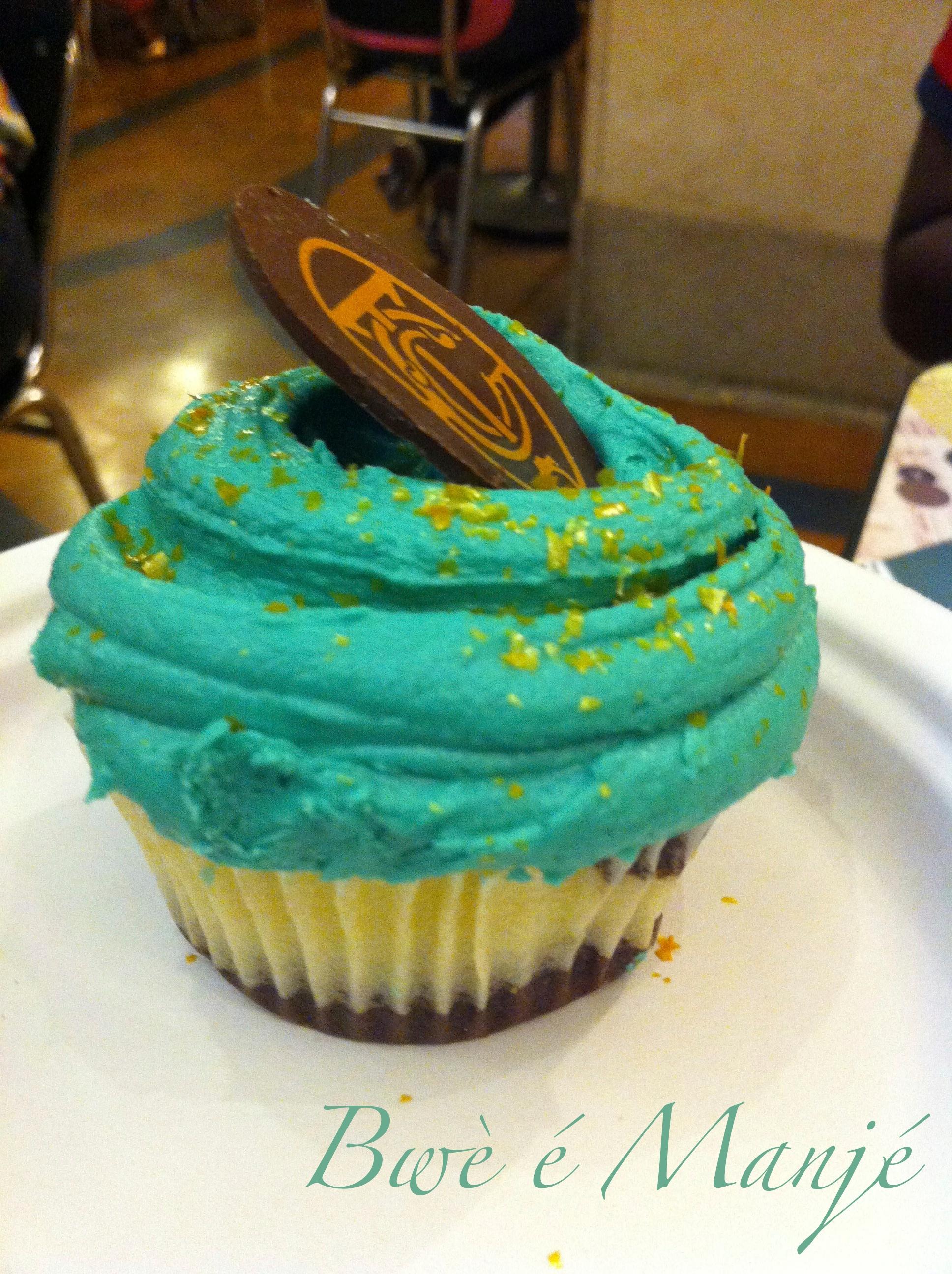 Le cupcake à l'éffigie de la gare