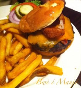 hamburger au Hard rock café