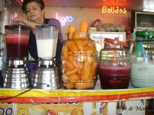 coktails de fruits et légumes