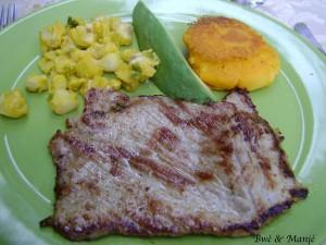 maïs et viande