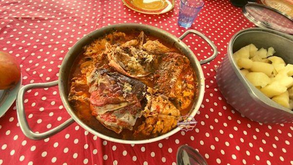 Court-bouillon de poisson (à l'antillaise)
