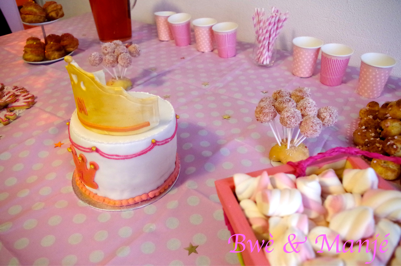 sweet table princesse