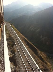 voyage à bord du train des Andes