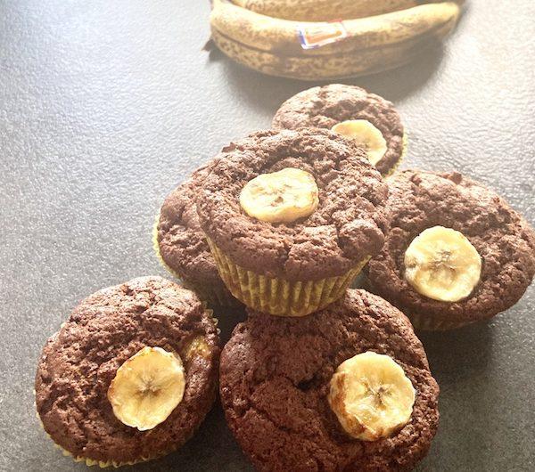 Muffin choco-banane