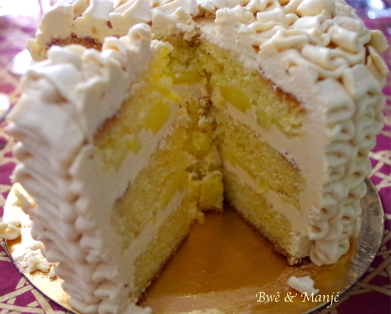 layer cake vanille caramel pommes