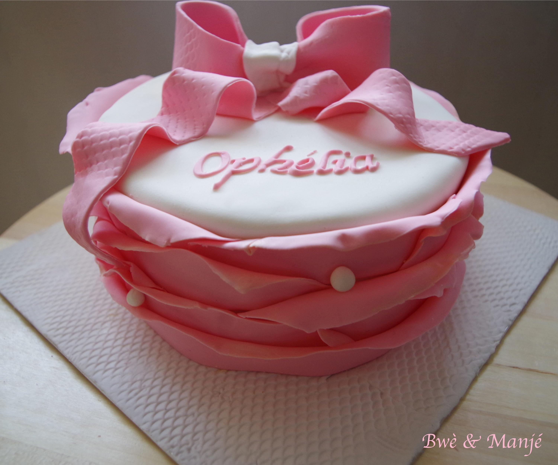 gâteau froufrou