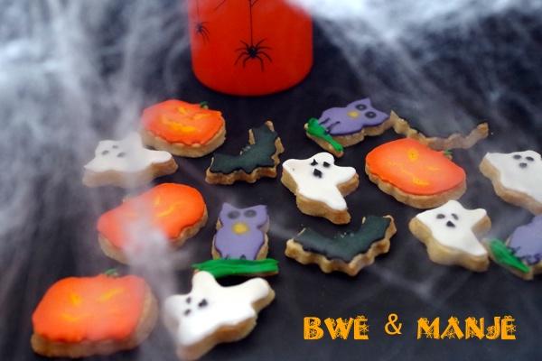 sablés décorés thème halloween