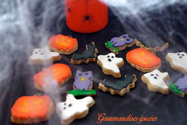 sables decores halloween gourmandises epicees