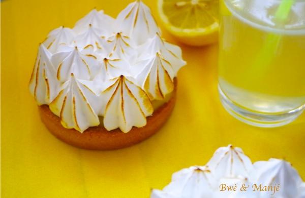 Tarte citron meringuée ( fiche technique cap pâtissier)