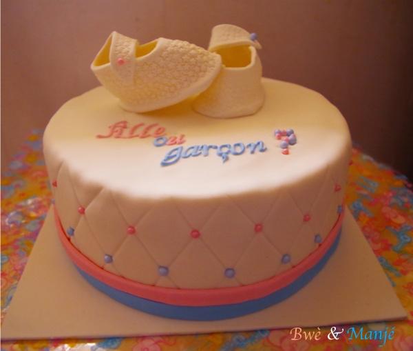 Gender cake