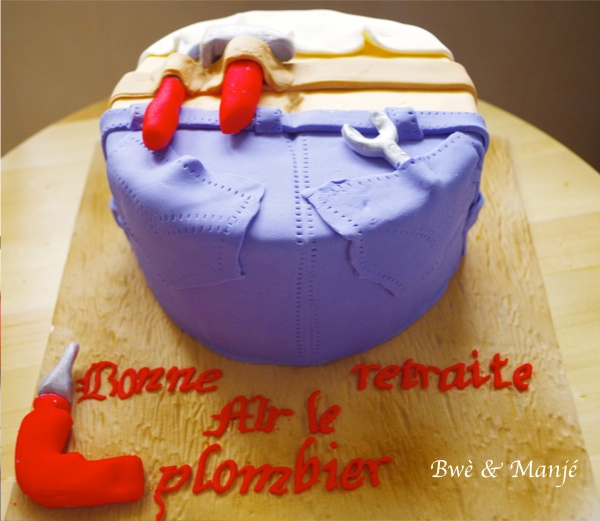 gâteau plombier