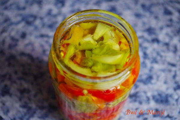 bocal de piment confit