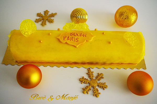 buche vanille passion sugar paris