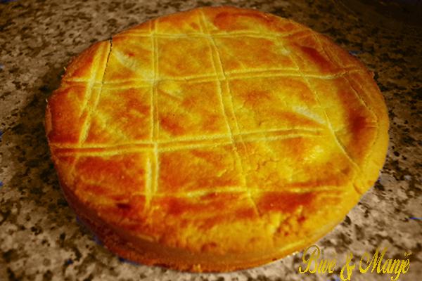 tarte gateau basque