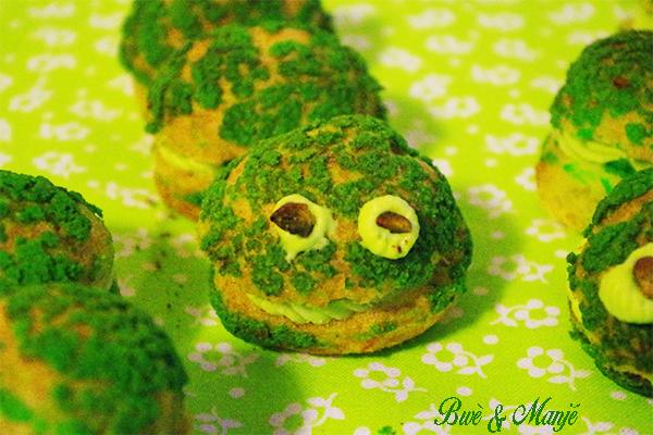 choux pistache