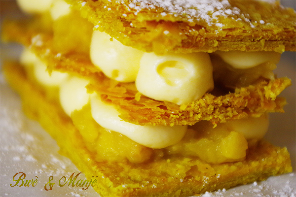 millefeuilles curry caramel beurre sale