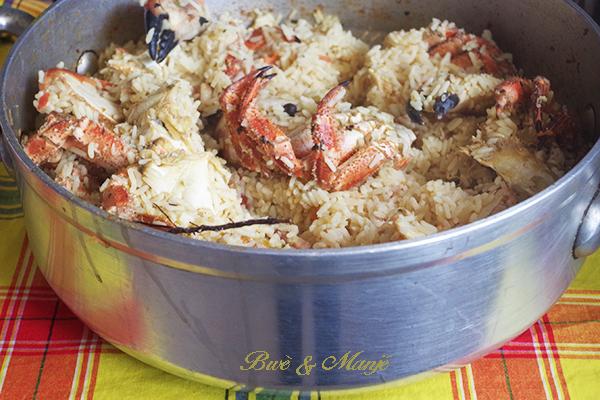 faitout de matete de crabes