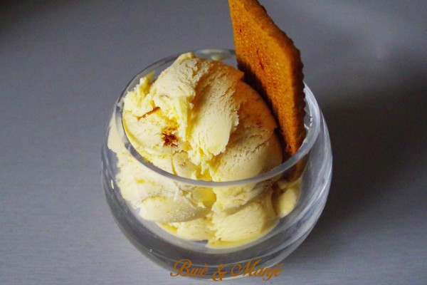 glace au speculoos