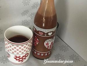 boisson de noel chocolat chaud gourmandises epicees