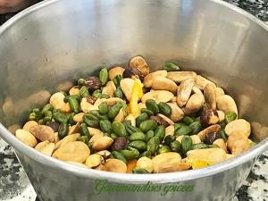 fruits secs pour nougats